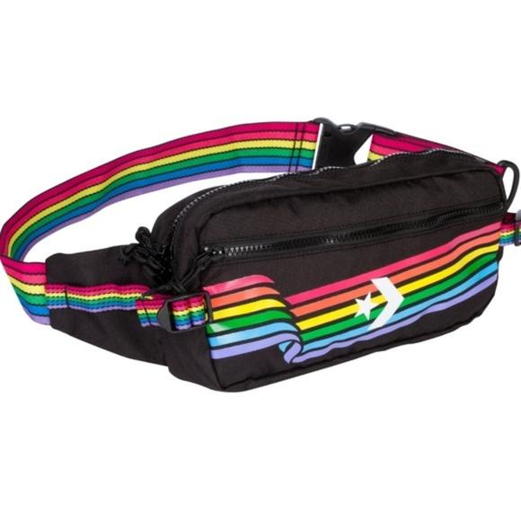 Converse Handbags - Converse Pride Rainbow Fanny Pack